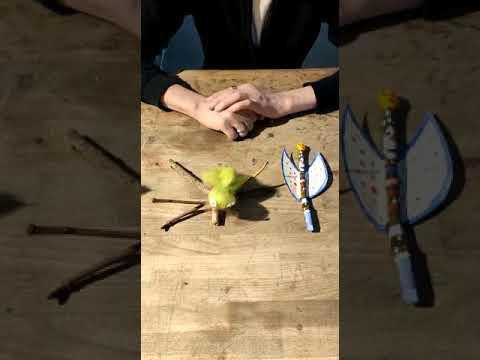 Zweigelfen und Asttrolle - MACHmit!-Werkstatt für Zuhause